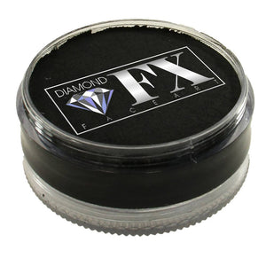 Diamond Face Paints - Black 10 (90 gm)
