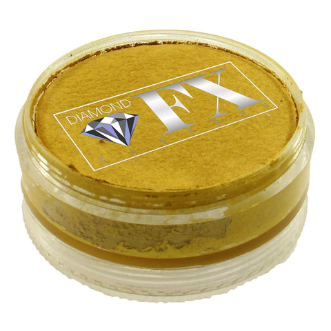 Diamond Face Paints - Metallic Gold M100 (90 gm)