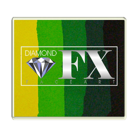 Diamond Split Cakes - Large Green Carpet 8 (50 gm)