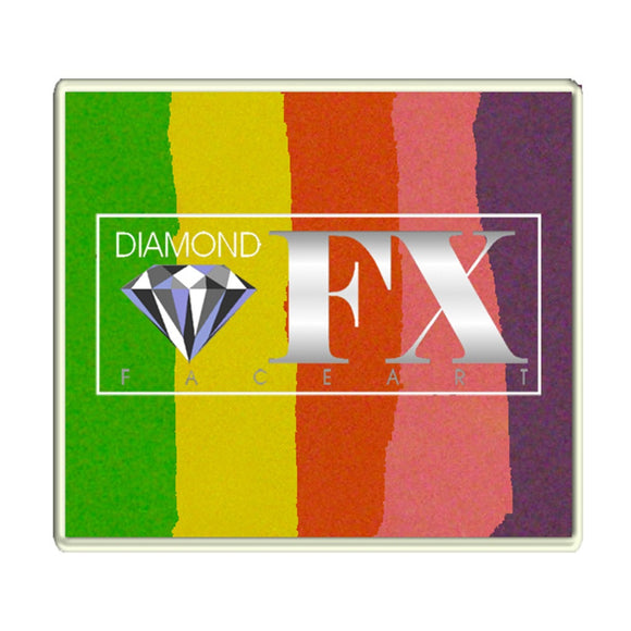 Diamond Split Cakes - Large Raving Rainbow 90 (50 gm)