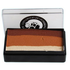 Cameleon Colorblock 1 Stroke Split Cakes - African Sunset (30 gm)