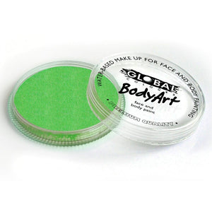 Global Colours Green Face Paint - Standard Lime Green (32 gm)