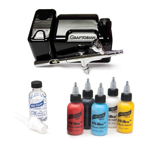 Graftobian Walk Around Airbrush System - FX Aire - Black