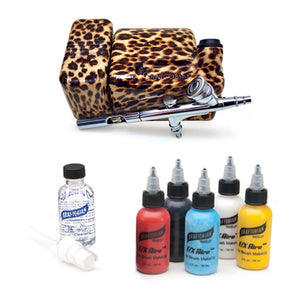 Graftobian Walk Around Airbrush System - FX Aire - Leopard