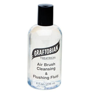 Graftobian Airbrush Cleaning Solution, 8oz