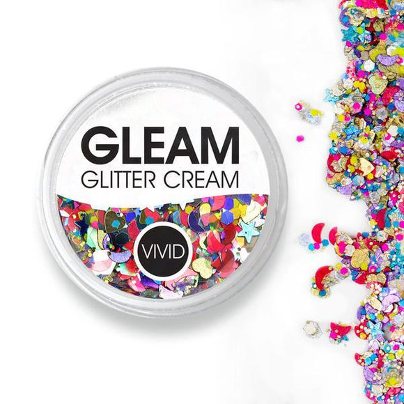 VIVID Gleam Glitter Cream - Festivity (10 gm)