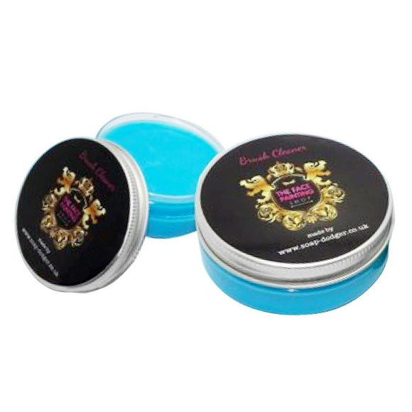 The Face Painting Shop Blue Brush Soap (50 gm)