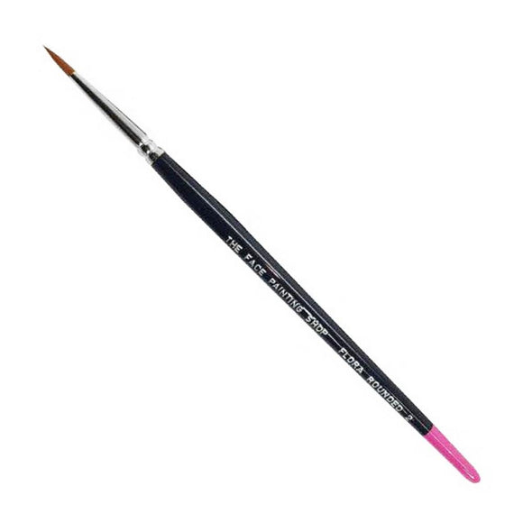 The Face Painting Shop Rounded Flora #2 Brush (1/8