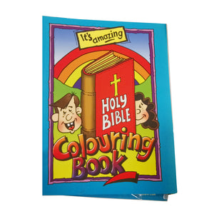 Holy Bible Magic Colouring Book