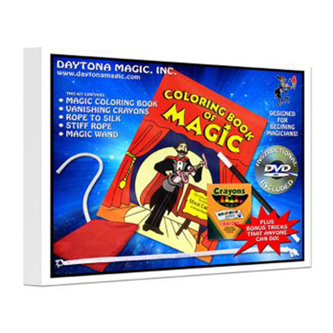Coloring Book of Magic Kit