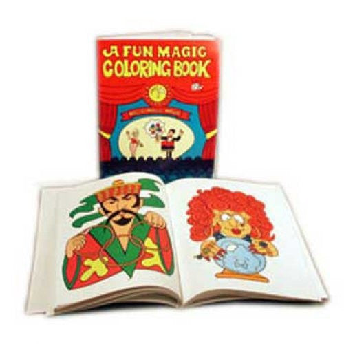 Pocket-Sized Magic Coloring Book