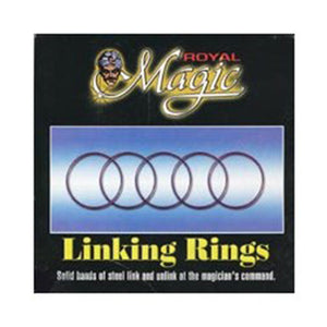 "Royal Magic Linking Rings - 5"" (Set of 8)"