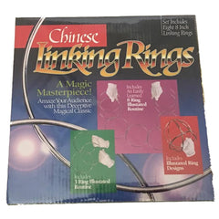 "Basic Magic Linking Rings - 8"" (Set of 8)"