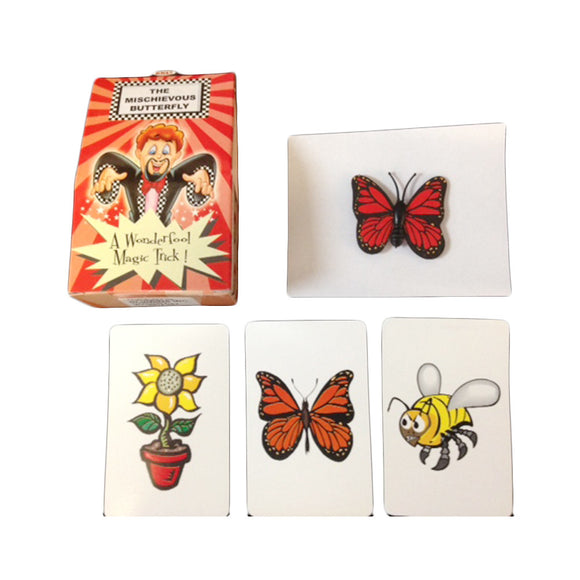 Mischievous Butterfly Magic Trick