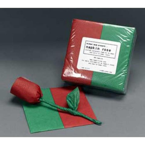 Napkin Rose Refills - Red/Green (50/Pack)