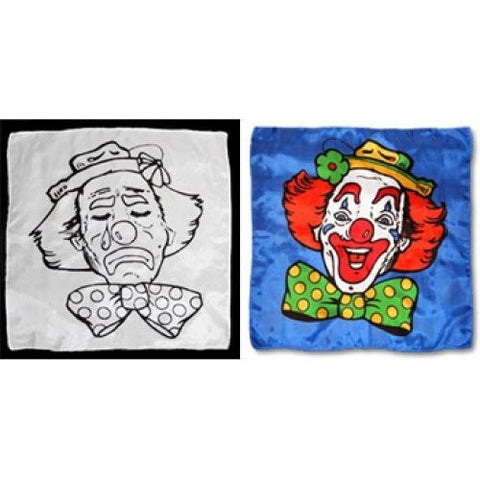 Sad to Happy Clown Silk Set (18 in)