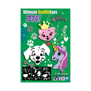 GraffitiEyes PETS! Stencil Kit