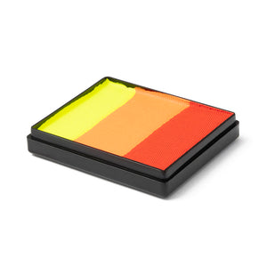 Global Colours Magnetic One Stroke Split Cake - Brightest Tiger (50 gm)