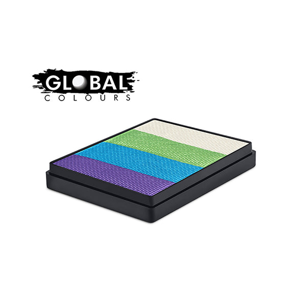 Global Colours Magnetic One Stroke Split Cake - Fairy Tale (Sri Lanka) (50 gm)