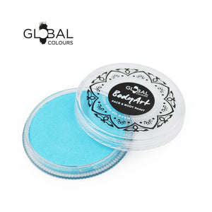 Global Colours Blue Face Paint -  Standard Baby Blue (32 gm)