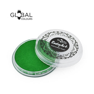 Global Colours Green Face Paint -  Standard Fresh Green (32 gm)
