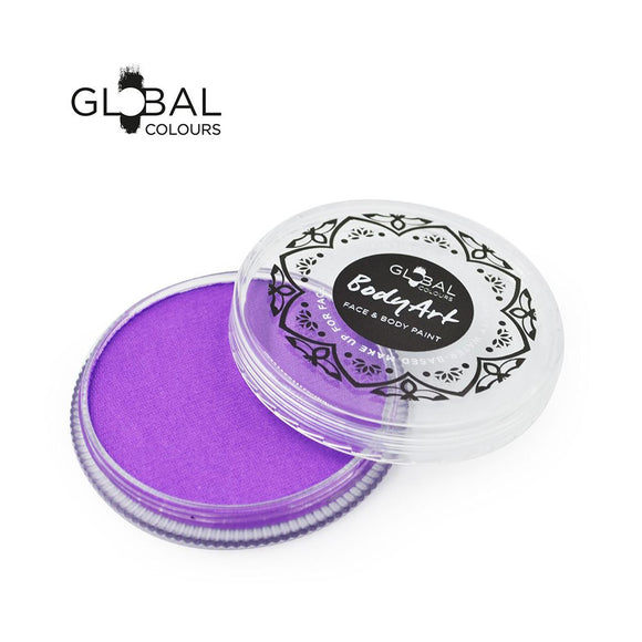 Global Colours Purple Face Paint -  Neon Purple (32 gm)