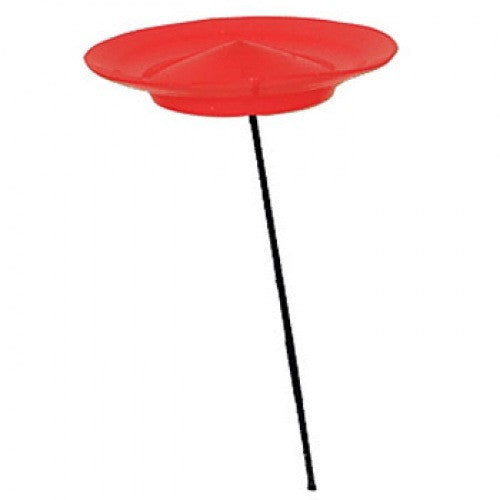 Higgins Brothers Spinning Plates - Red