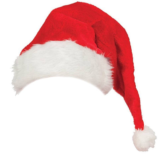 Jacobson Hat Plush Santa Hat
