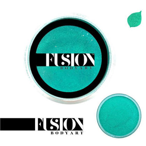 Fusion Body Art Face & Body Paint - Pearl Mermaid Green (25 gm)