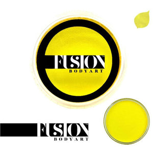 Fusion Body Art Face & Body Paint - Prime Bright Yellow (32 gm)