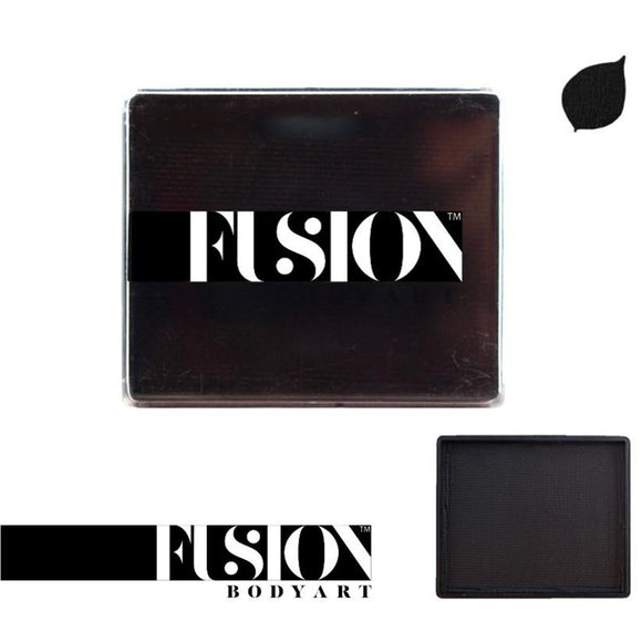 Fusion Body Art Face & Body Paint - Prime Strong Black (100 gm)
