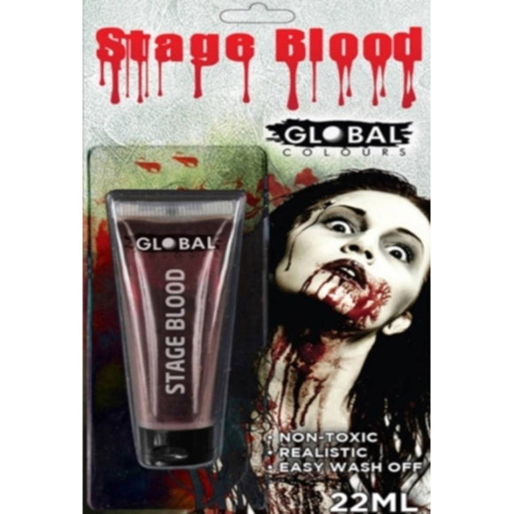 Global Colours Stage Blood Gel Blister Pack (22 ml)