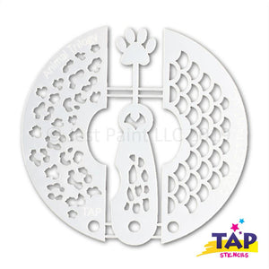 TAP Face Paint Stencil Set - Animal Trilogy