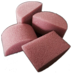 Always Wicked Art Mini Half Round Sponge (12/pack)