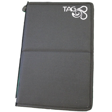 Tag Body Art Brush Wallet With Zip (Empty)