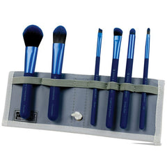 Royal MODA Total Face Brush Set - Blue (7 Piece)