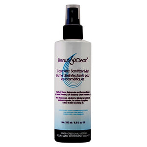 BeautySoClean Cosmetic Sanitizer Mist 8.5 oz (250 ml)