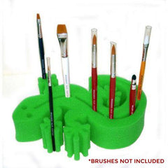 Ruby Red Gecko Brush Holders - Green