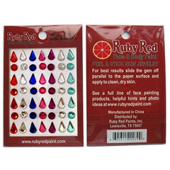 Ruby Red Stickable Gems