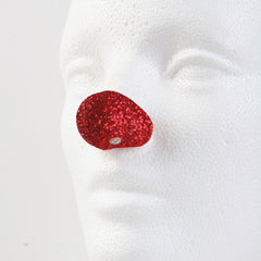 "Jim Howle Clown Noses - Sparkle Red Style 5C (Round, 1 1/8"" wide)"