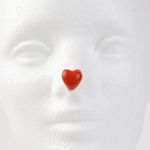 Jim Howle Clown Nose Tips - Heart Size D (Dime)
