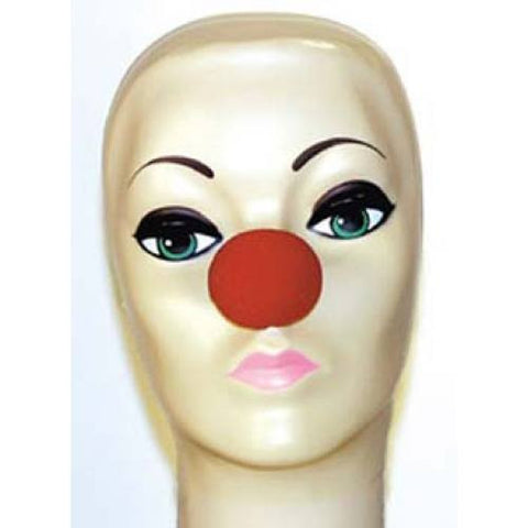 "Red Foam Clown Noses (1 5/8"")"