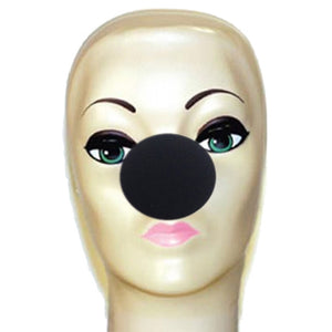 "Magic By Gosh Foam Clown Nose - Black (2"")"