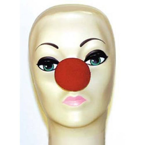 "Red Foam Clown Noses (2"")"