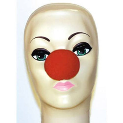 "Red Foam Clown Noses (2.5"")"
