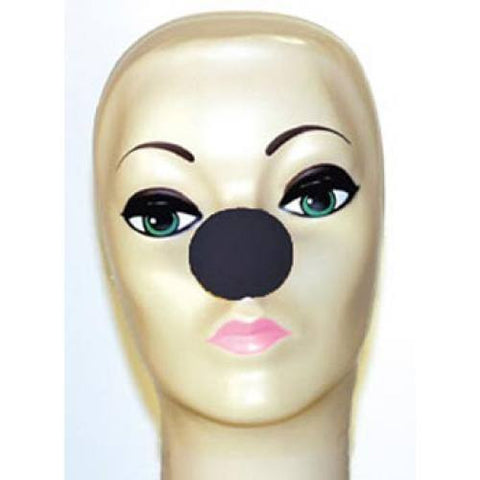 "Black Foam Clown Noses (1 5/8"")"