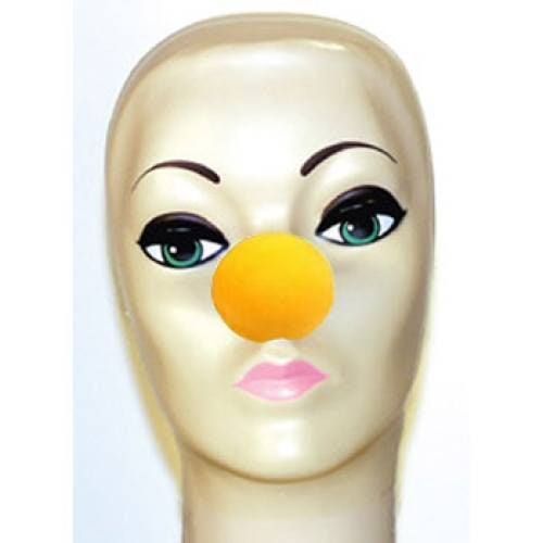 Magic By Gosh Yellow Foam Clown Nose (1 5/8