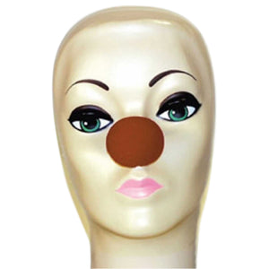 "Magic By Gosh Brown Foam Clown Nose (1 3/4"")"