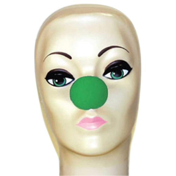 Magic By Gosh Green Foam Clown Nose (1 3/4