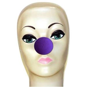 "Magic By Gosh Violet Foam Clown Nose (1 3/4"")"